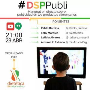 DSP publi publicidad alimentación Félix Morales Concísate Dietética Sin Patrocinadores