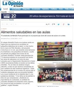 Noticia La Opinión Tenerife Concísate Detectives en el cole colegio Montaña Pacho
