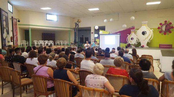 taller consumo salud Concísate Félix Morales Tinajo Lanzarote