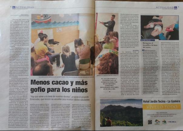 Diario de Avisos Enraizados Félix Morales Concísate Cabildo Tenerife