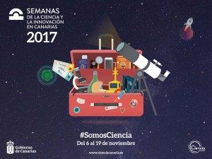 Semanas Ciencia Innovación Canarias 2017 - Concísate web