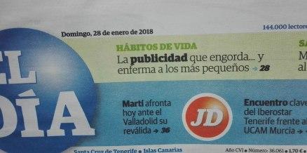 publicidad tv infancia salud Félix A, Morales Concísate El Día 1