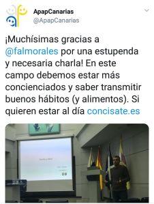 APapCanarias Félix A. Morales Concísate pediatría salud infantil alimentación publicidad