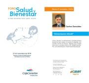 Conferencia alimentación infancia Carlos González La Palma 27 nov Foro Salud y Bienestar 2018