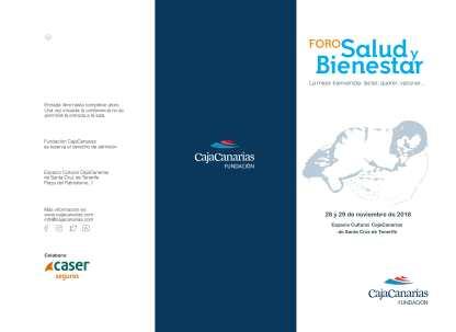 La mejor bienvenida. Lactar, querer, vacunar Tenerife 28 y 29 nov Foro Salud y Bienestar 2018 (2)