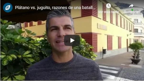 Fruta bebidas azucaradas Félix A. Morales Concísate Donacción Televisión Canaria salud consumo